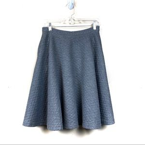 Anthropologie comme toi a like quilted skirt s